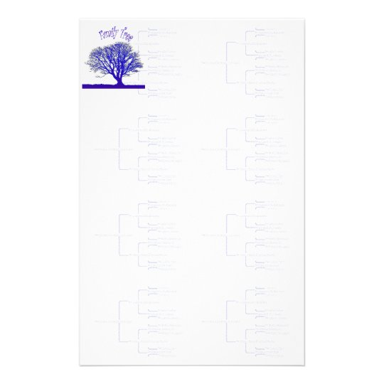 Family Tree Collection Stationery