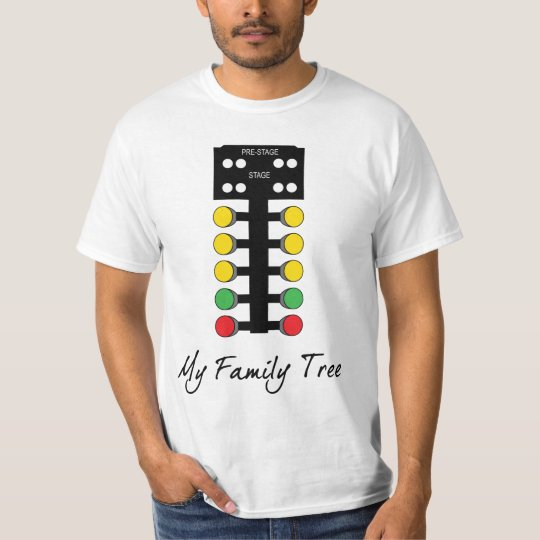 Family Tree - Drag Racing T-Shirt