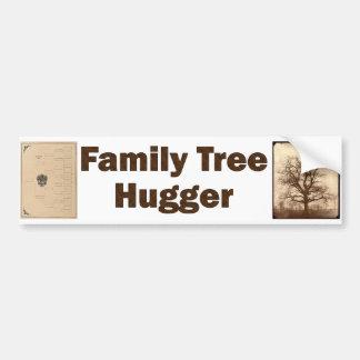 Family Tree Hugger Bumper Sticker