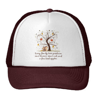 Family Tree Humor Cap