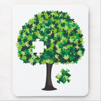 Family Tree Jigsaw Puzzle Mouse Mat