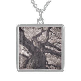 Family Tree Nature s Old Mighty Wisdom Custom Necklace