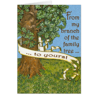Family Tree Notecards Note Card