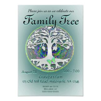 Family Tree Reunion 13 Cm X 18 Cm Invitation Card