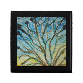 Family Tree Small Square Gift Box