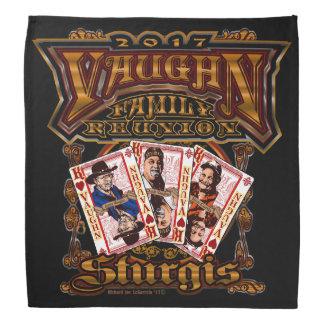 Family Vaughn Reunion black bandana