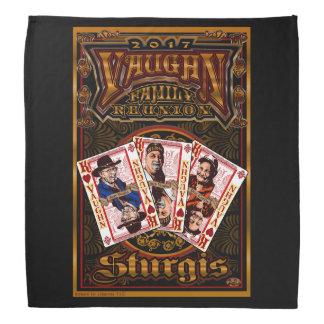 Family Vaughn Reunion black bandana 2