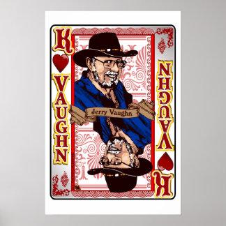 Family Vaughn Reunion  Jerry Vaughn Card print