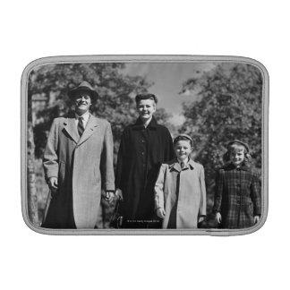 Family Walking MacBook Sleeve