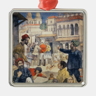 Famine in India Christmas Ornament