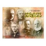 Famous 19th Century Scientists Postcards