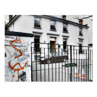 Famous Abbey Road Studio Postcard
