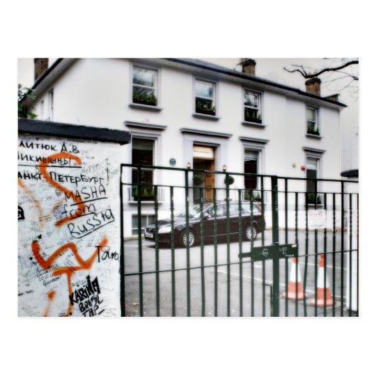 Famous Abbey Road Studio Postcard