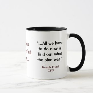 Famous Accounting Quotes - Funny and Profound CFO Mug