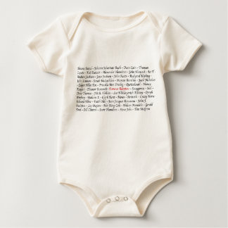 Famous Adoptees Bodysuits