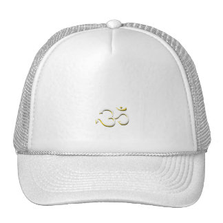 Famous Art of Om Symbol Fashion In Style Hats