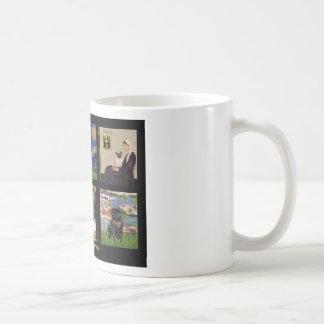 Famous Art Pug Composite #1 Coffee Mugs