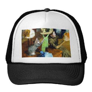 Famous Artists' Cat In Degas' Hat Shop