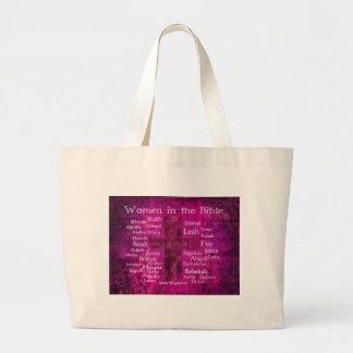 Famous Biblical Women list Canvas Bag