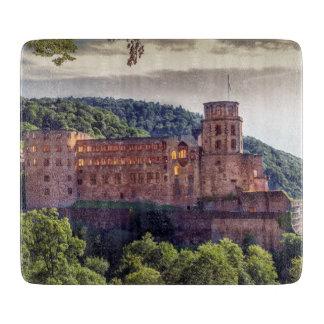 Famous castle ruins, Heidelberg, Germany Cutting Board
