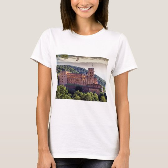 Famous castle ruins, Heidelberg, Germany T-Shirt