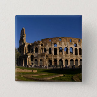 Famous Colosseum in Rome Italy Landmark 2 15 Cm Square Badge
