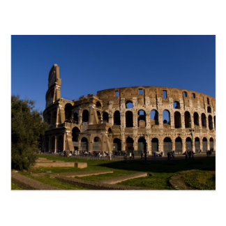 Famous Colosseum in Rome Italy Landmark 2 Postcard