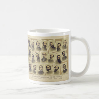 Famous Confederate Commanders of the Civil War Coffee Mug