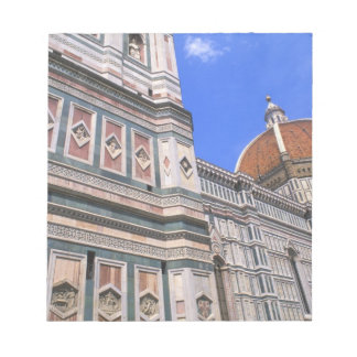 Famous Doumo Church close-up in Florence, Italy Notepad
