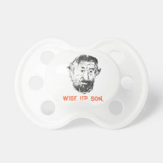 "FAMOUS FACES - ""Wise up Son"" Cool DeNiro Pacifier"