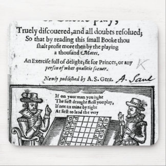 Famous Game of Chess, 1614 Mouse Mat