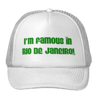 FAMOUS IN RIO HAT