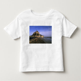 Famous Le Mont St. Michel Island Fortress in Toddler T-Shirt