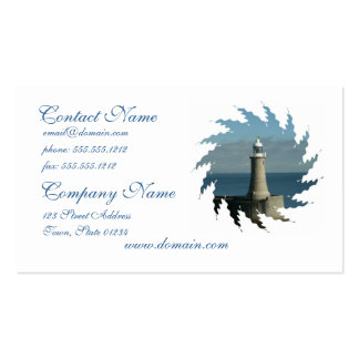 Famous Lighthouse Business Card