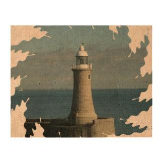 Famous Lighthouse Cork Paper Prints