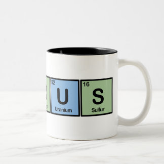 Famous made of Elements Coffee Mug