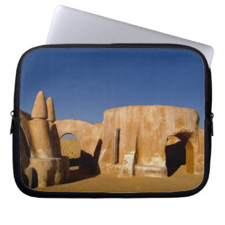 Famous movie set of Star Wars movies in Sahara Laptop Sleeve