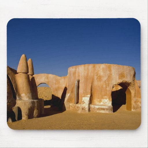 Famous movie set of Star Wars movies in Sahara Mousepads
