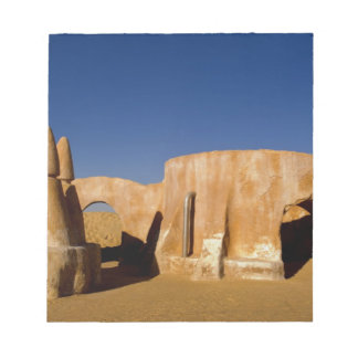 Famous movie set of Star Wars movies in Sahara Notepad