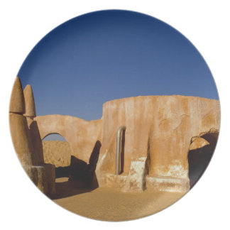 Famous movie set of Star Wars movies in Sahara Plate