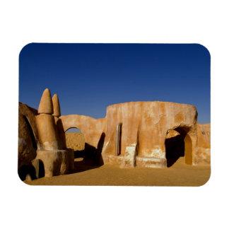 Famous movie set of Star Wars movies in Sahara Rectangular Photo Magnet