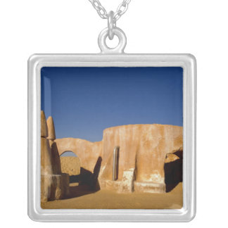 Famous movie set of Star Wars movies in Sahara Silver Plated Necklace