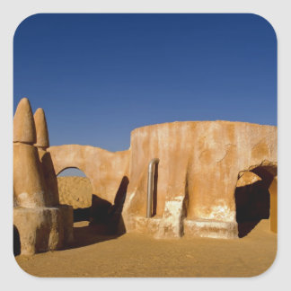 Famous movie set of Star Wars movies in Sahara Square Sticker