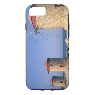 Famous old windmills of Rhodes Greece iPhone 8/7 Case