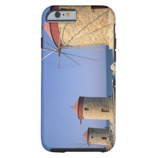 Famous old windmills of Rhodes Greece Tough iPhone 6 Case
