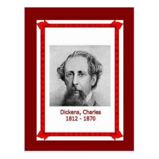 Famous people, Charles Dickens 1812-1870 Postcard