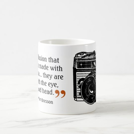 Famous Photographer's Quote 1 Vintage Camera Image Coffee
