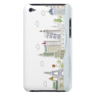 Famous Places of the World Barely There iPod Covers
