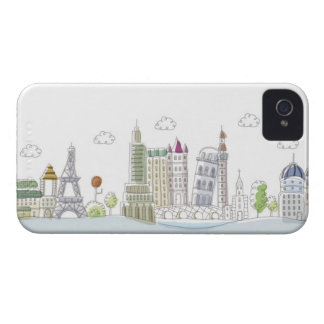 Famous Places of the World iPhone 4 Case-Mate Case