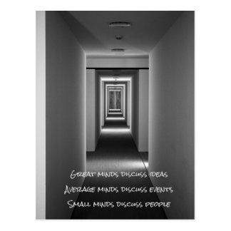 Famous quote: ideas, events, people postcard